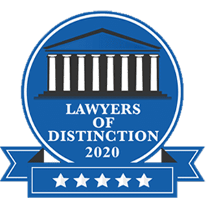 Lawyers of Distinction 2020 Award